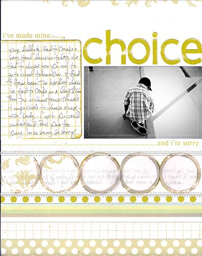 [ OLW: Choice // 2008 ]