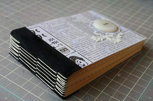 [ Family: hand bound, plexiglass journal // 2008 ]