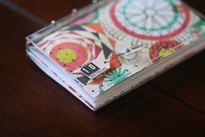 [ December: hand bound album // 2008 ]