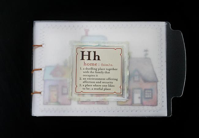 [ Home: hand bound book // 2008 ]