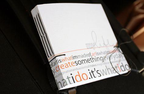 [ My Life: hand bound journals // 2009 ]