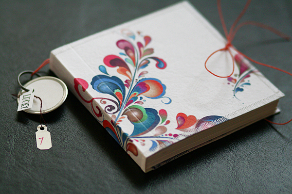 [ Color Sploosh: handmade journal // 2009 ]