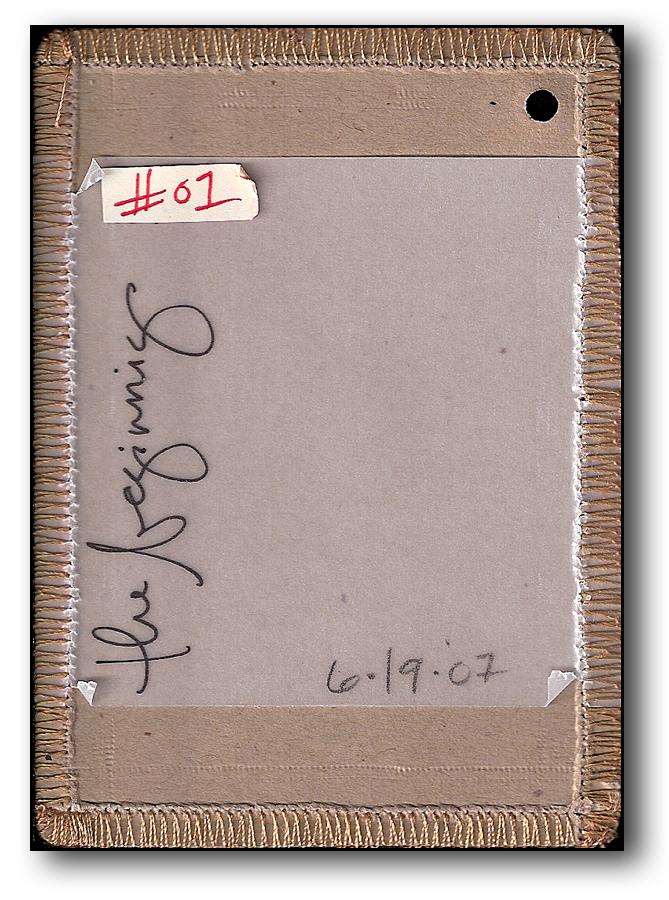 [ Art Card #1 // 2007 ]