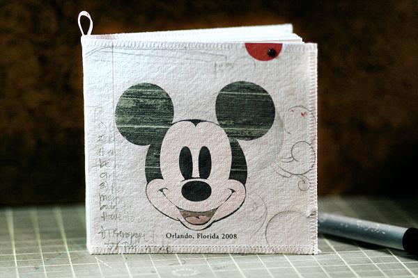 [ Mickey: handmade journal // 2008 ]