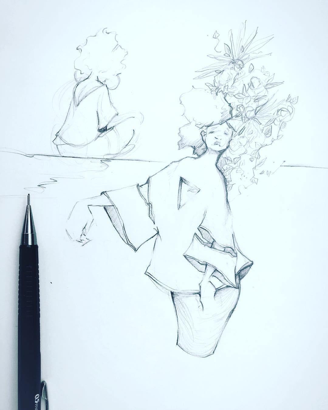 [ Cut Out // 2018 // Pencil ]