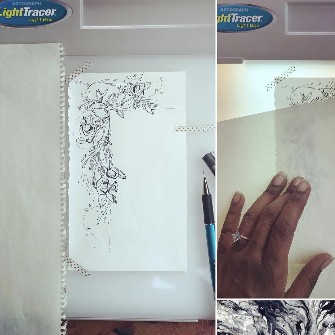 [ Floral Doodle 4 // 2018 // Ink Pen ]
