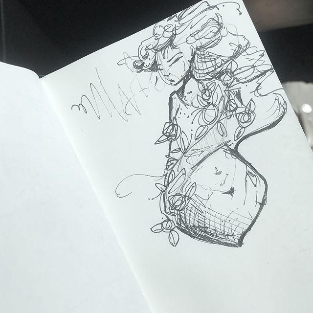 [ Flower Gile // 2018 // Ink ]