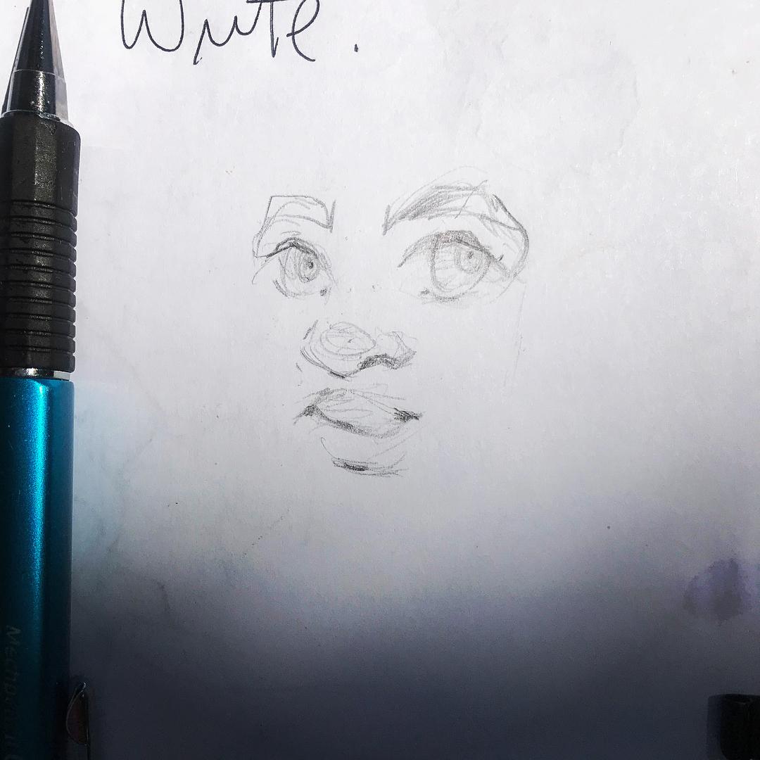 [ Hello // 2018 // Pencil ]