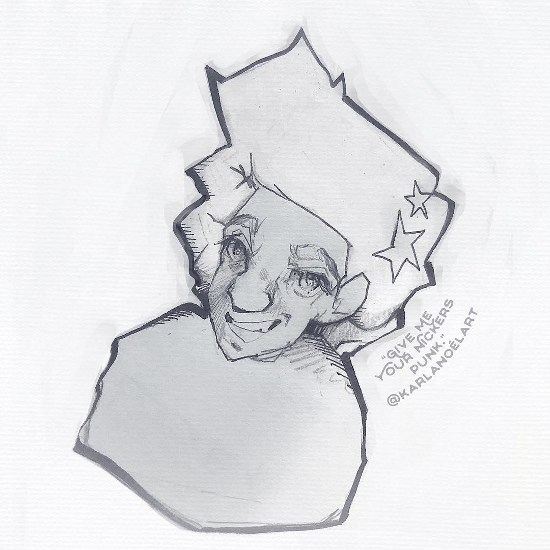 [ Punk // 2018 // Pencil ]