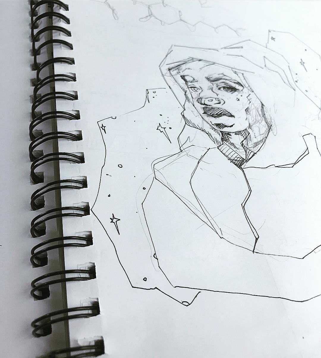 [ Secrets // 2018 // Pencil & Ink ]