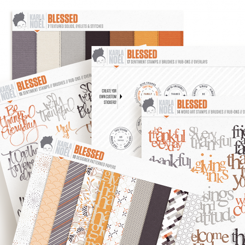 Blessed | kit Bundle | Karla Noél Design